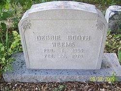 Debbie Booth WeemsDebbie Weems