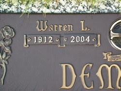 Warren Lester Demaris