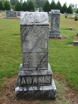 Dicie Milvina <i>Jones</i> Adams
