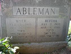 Bertha Ableman