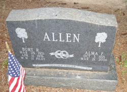 Alma F <i>Cornett</i> Allen