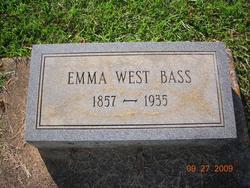 Emary R. Emma <i>West</i> Bass