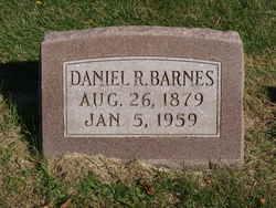 Daniel Robinson Capp Barnes