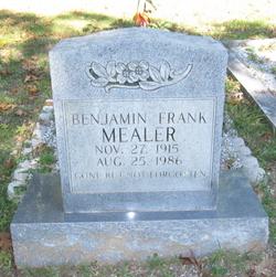 Benjamin Frank Mealer