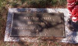 Hazel W <i>Pate</i> Breshears