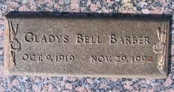 Gladys Bell <i>Sanders</i> Barber