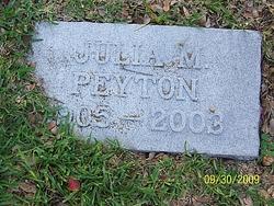 Julia M Peyton