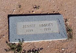 Jennie <i>Pitcher</i> Abbott