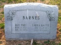 Laura Mattie <i>Dixon</i> Barnes