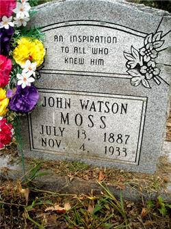 John Watson Moss