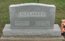 Raymond D Alexander
