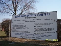 Saint Mary Nativity Cemetery