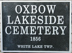 Oxbow Lakeside Cemetery