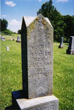 Huldah <i>Bates</i> Barker
