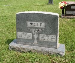 Alexander A Wolf