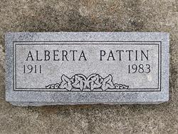 Alberta <i>Barwick</i> Pattin