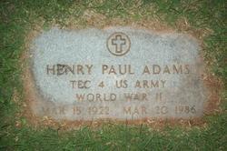 Henry Paul Adams