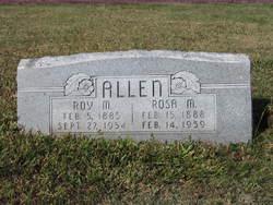 Rosa Myrtle <i>Speck</i> Allen
