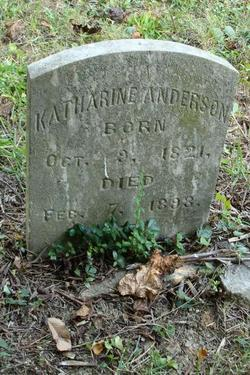 Nancy Katherine <i>Willoughby</i> Anderson