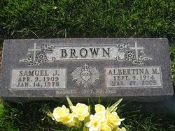 Albertina M. <i>Machler</i> Brown