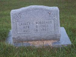 Cassity G. Bordeaux