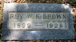 Roy W.K. Brown