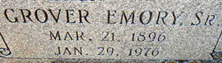 Grover Emory Reed, Sr