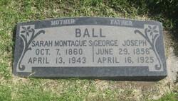 Sarah Marie <i>Montague</i> Ball
