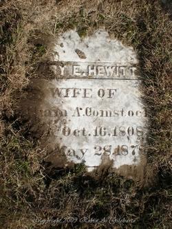 Mary Eliza <i>Hewitt</i> Comstock