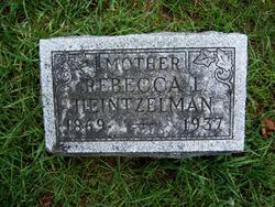 Leah Rebecca <i>Miller</i> Heintzelman