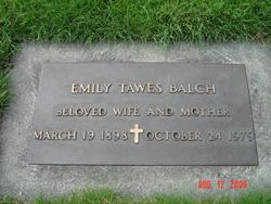 Emily <i>Tawes</i> Balch