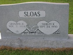 Leonard Sloas, Jr