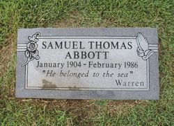 Samuel Thomas Tommy Abbott