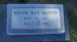 Fannie Way Haston