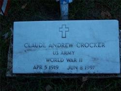 Claude Andrew Crocker, Sr
