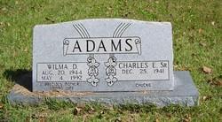 Charles E Adams, Sr