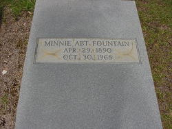 Minnie <i>Abt</i> Fountain
