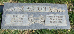 Carl William Acton