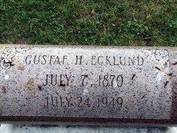 Gustaf H. Ecklund
