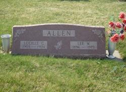 Charlotte Lucille <i>Craven</i> Allen
