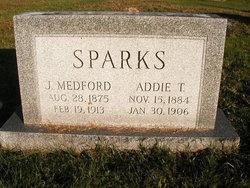 Addie T Sparks