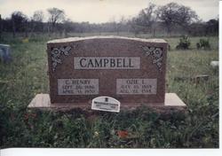 Ozie L <i>O'Neal</i> Campbell