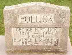 Beatrice Louisa <i>McQueen</i> Follick