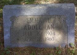 Emma L Addleman