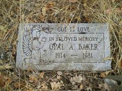 Opal A <i>Hayes</i> Baker