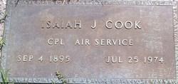 Isaiah J Cook