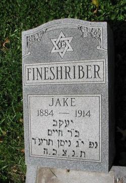 Jacob Jake Fineshriber