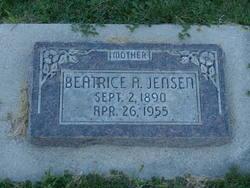 Beatrice Alice <i>Barker</i> Jensen