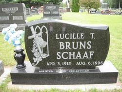 Lucille Theresa <i>Kloeppner</i> Schaaf