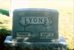 Mary Elizabeth <i>Burris</i> Lyons